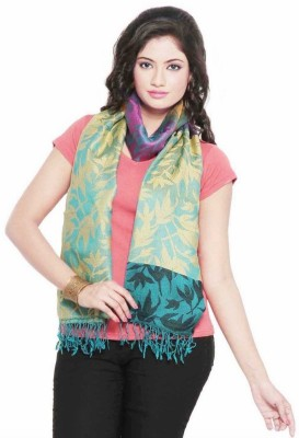 Indiangiftemporium Printed Modal Silk Women's Stole