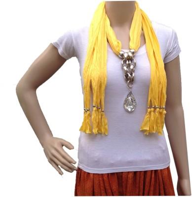 Grace Fashion Villa Solid Hosiery Cotton Women's Scarf