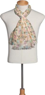 Urban-Trendz Printed Polyester Girls Scarf
