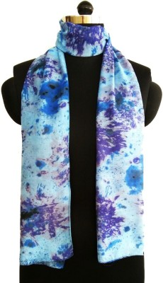 Sisel Printed BeautyBlue Poly Cotton Women's Stole