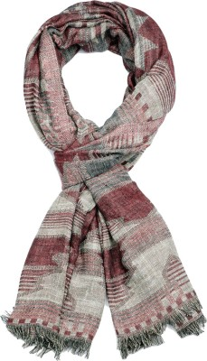 IR Acc Printed Wool Women's Scarf