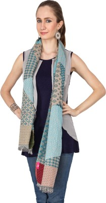 Diti Self Design Cotton Women's Stole