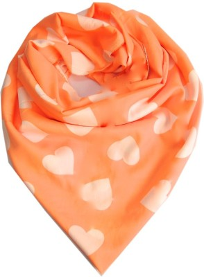 Niche Floral Print French Crepe Women's Scarf