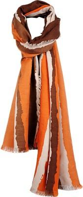 Crunchy Fashion Striped Cotton Women,s Scarf