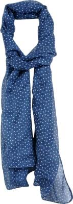 Crunchy Fashion Self Design Georgette Women,s Scarf