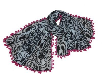 Polipilla Printed Polyester Women's Scarf