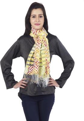 Get Wrapped Printed Nylon, Visocse Women's Stole