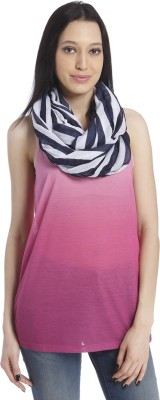 Only Striped 100%Polyester Women's Scarf