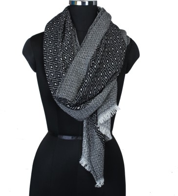 Frore Woven cotton, wool, nylon Women's Scarf