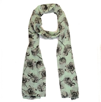 Add To Style Printed Polyster Women's Scarf