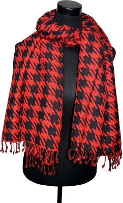 VP London Embroidered Cotton Women's Scarf