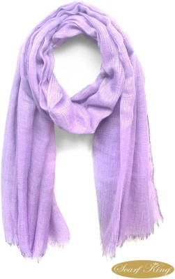 ScarfKing Solid Polyester Women,s