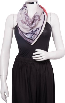 Rose Vanessa Printed Poly Cotton Women,s Scarf