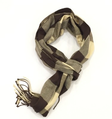Sir Michele Checkered Wool Men's Stole