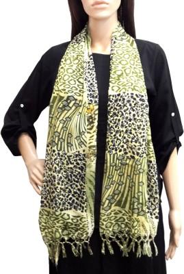 Lifestyle Retail Animal Print Cotton Women's Scarf