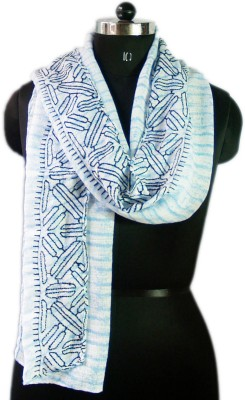 VR Designers Embroidered Cotton Polyester Women's Stole