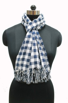 Get Wrapped Checkered Cotton Women's Stole