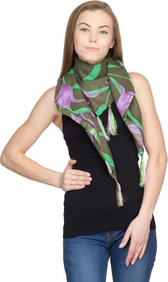 Famous by Payal Kapoor Floral Print Cotton Women's Scarf
