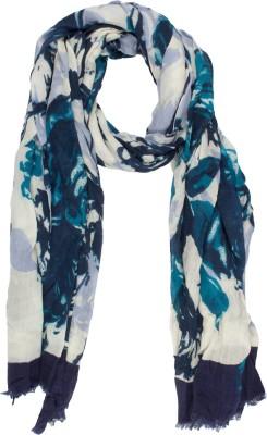 Amaryllis Floral Print Wool Women's Scarf