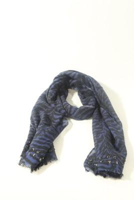 Skatti Printed Marino Wool Men's Scarf