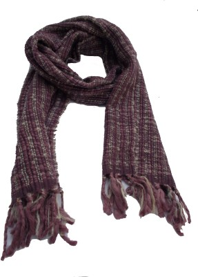 Lotusa Solid Woolen Men's Scarf