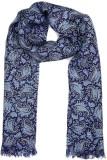 Tiekart Floral Print Silk Men's Scarf