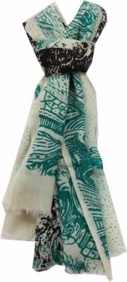 Polipilla Printed Wool Modal Women's Scarf