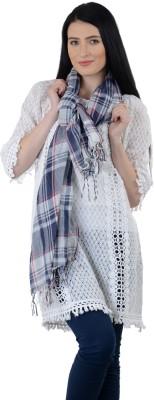 Selfiwear Checkered Cotton Women's Stole