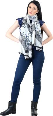 Selfiwear Printed Pc.Cotton Women's Stole