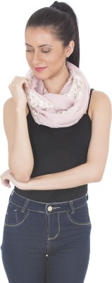 Scarves & Glitters Embroidered Cotton Women's Scarf