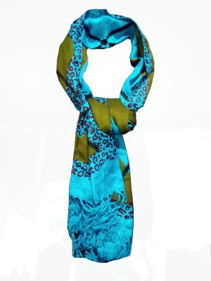 Mesmerise Handicraft Self Design Satin Women's Stole