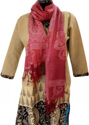 Baba Handicrafts Graphic Print Pashmina-Wool Women's Stole