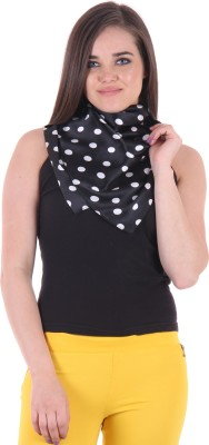 Uniscarf Polka Print Satin Women's Stole