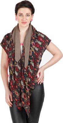 Shyam & Co. Of North Pvt. Ltd. Printed 50% Wool 50% Viscose Women's Scarf
