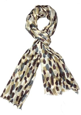 Indian Fashion Guru Printed Polycotton Womens Stole