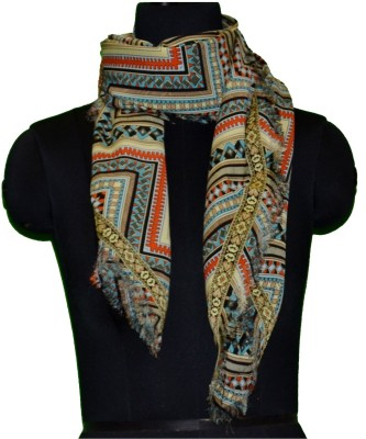 COURTLY LOVE Printed POLYSATIN Women's Scarf