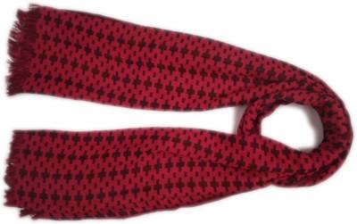 Islamic Attire Geometric Print Woolen Women's Scarf