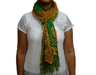 Portia Self Design Lycra Women's Stole