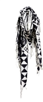 COURTLY LOVE Printed Cotton Women's Scarf