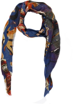 Toscee Printed 80%Wool, 20% Silk Women,s