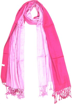 Malhotra & Sons Solid Satin Women's Stole