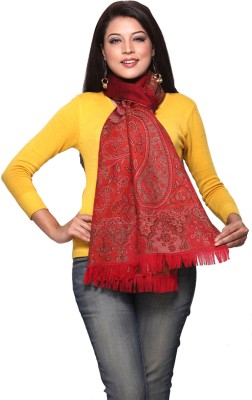 Aapno Rajasthan Self Design Wool Women,s