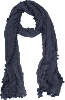 Amaryllis Embellished Cotton Silk Women's Scarf