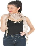 Scarves & Glitters Solid cotton Women's ...
