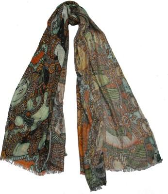 Shawls of India Printed Viscose Women's Scarf