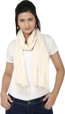 Tomorrow,s Antiques Self Design Cotton Women,s Scarf
