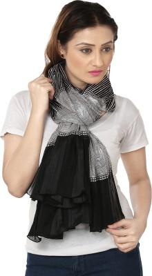 Insyync Printed Polyester Women,s, Girl's Scarf