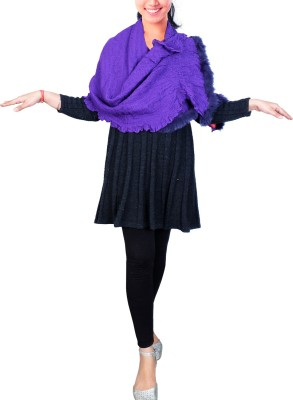Super Drool Solid Wool Women,s, Girl's Scarf
