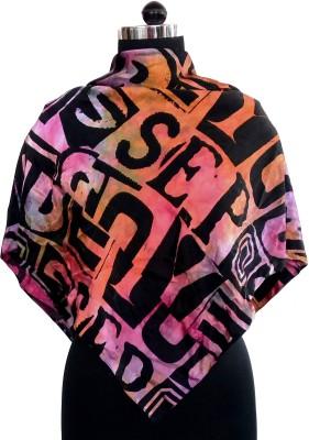 Sisel Printed Nylon Satin Women's Scarf