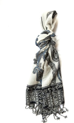NIV COLLECTION Printed WOOL VISCOSE Women's Scarf